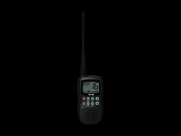 SH-200 Marine VHF Portable Radio