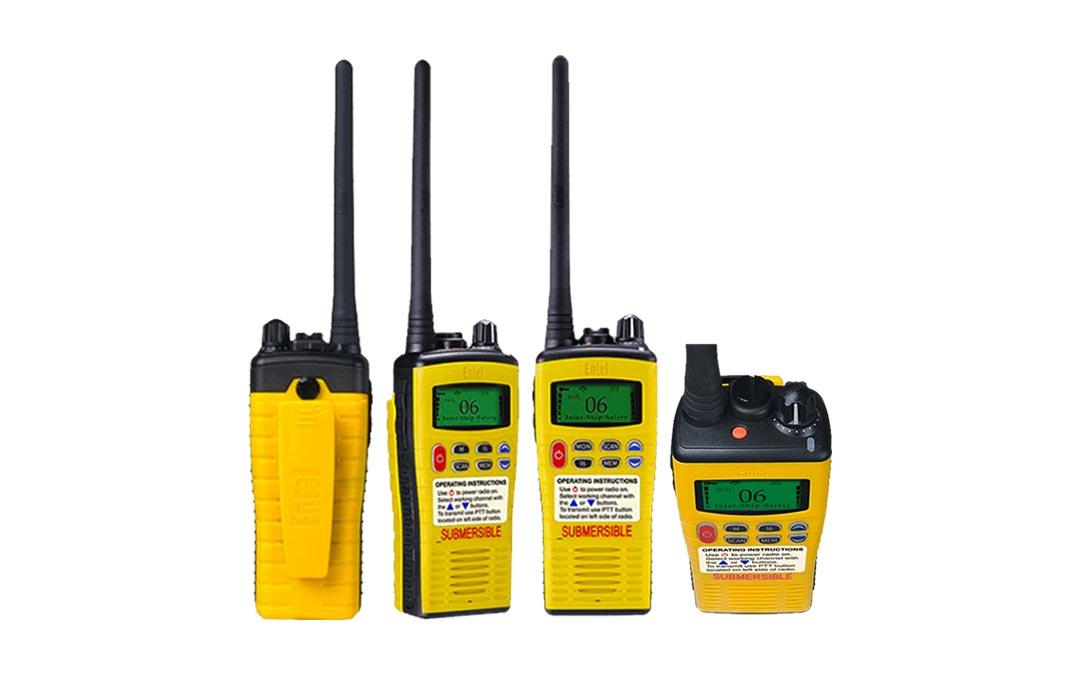 Entel HT649 GMDSS VHF Portable Radio