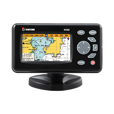 Samyung NF430 Color GPS Chart Plotter Fishfinder 1