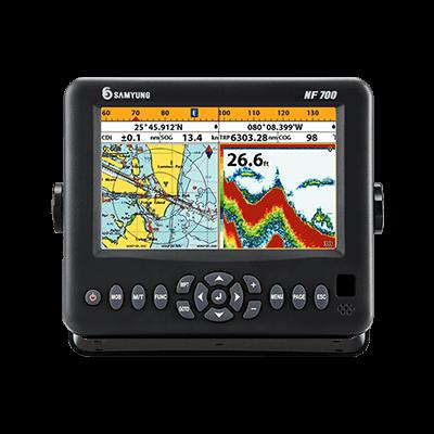 Samyung NF 700 Color GPS Chart Plotter and Fishfinder 1