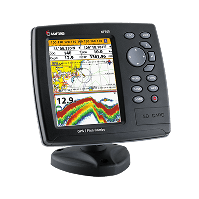 Samyung NF560 GPS Plotter and Fishfinder 1