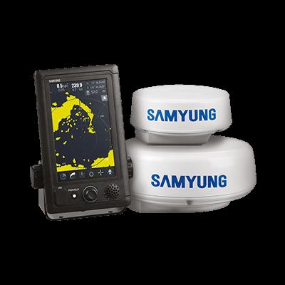 Samyung SMR-715 Marine Radar 24NM LCD 1