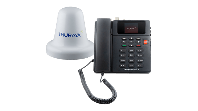 Thuraya Marinestar, Best Satellite Phone SMS and Email 60 Kbps 1