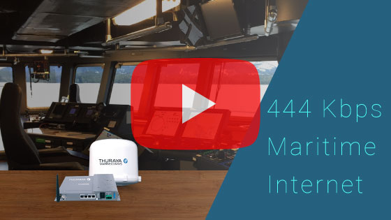 Thuraya Orion IP, 444 Kbps, Best Maritime Broadband Internet 5